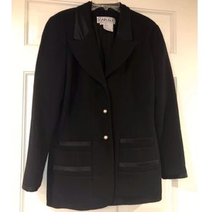 Carlisle Women's Peacoat w/ Pearl Buttons Size 4